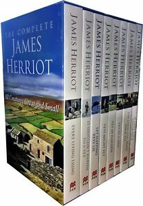 The-Complete-James-Herriot-All-Creatures-Great-and-Small-8-Book-Collection-Vet