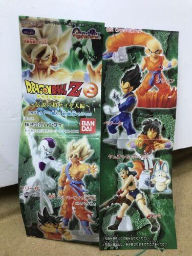 Capsule Toys Gashapon Hg Dragon Ball Z Imagination 2 Set 7pcs Capsule dragonball