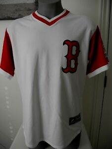 1c8416466 New White   Red Boston Redsox Gonzalez  28 Officially Designed ...