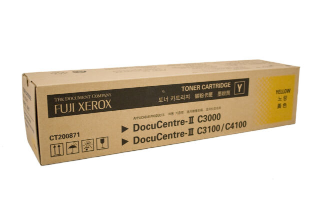 Xerox Genuine CT200871 YELLOW Toner For C3000 C3100 C4100 - 8,000 Pages