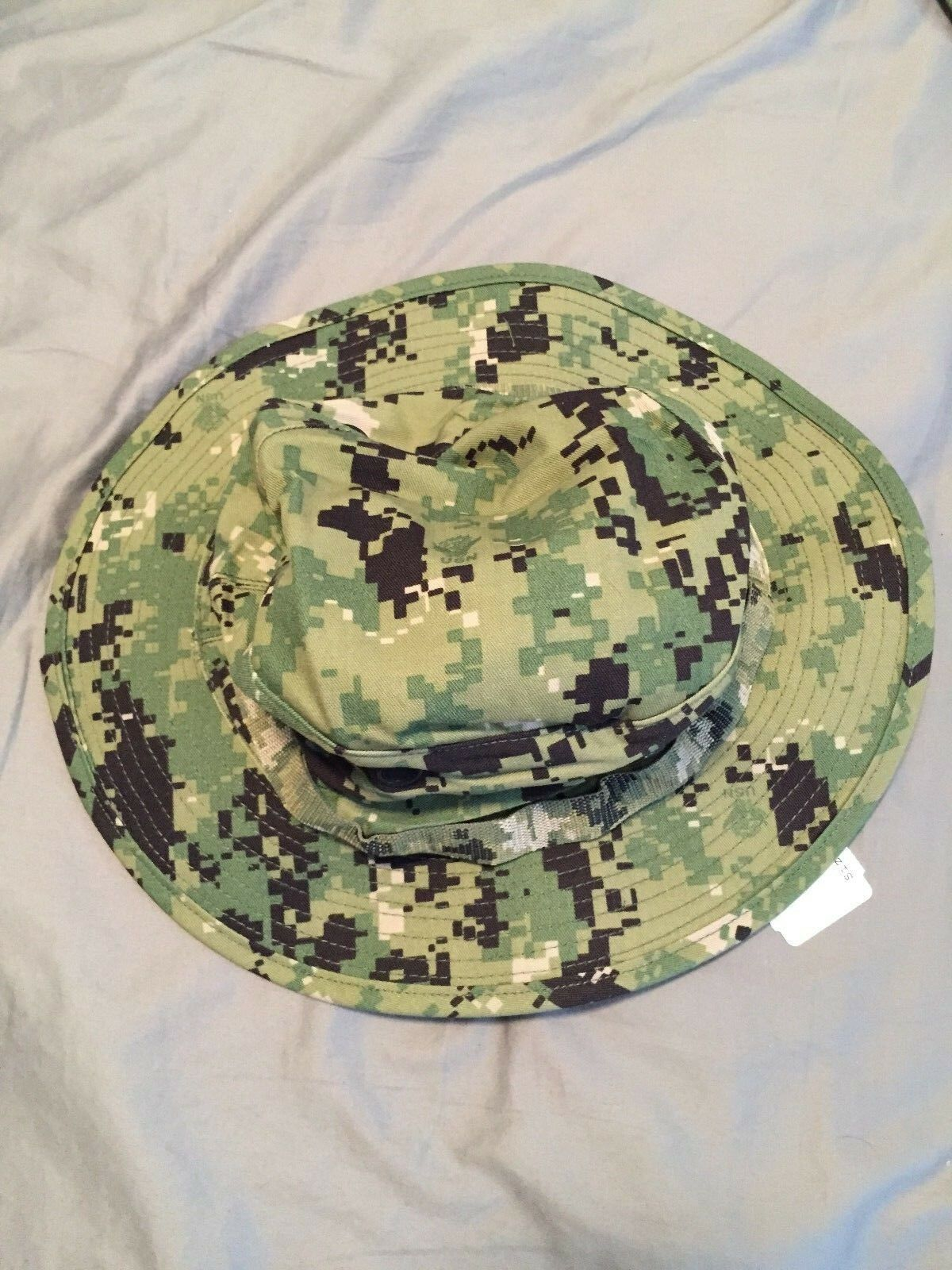 8f4c9cecd NWU Type III Navy Seal Aor2 Digital Woodland Boonie Hat Size Small