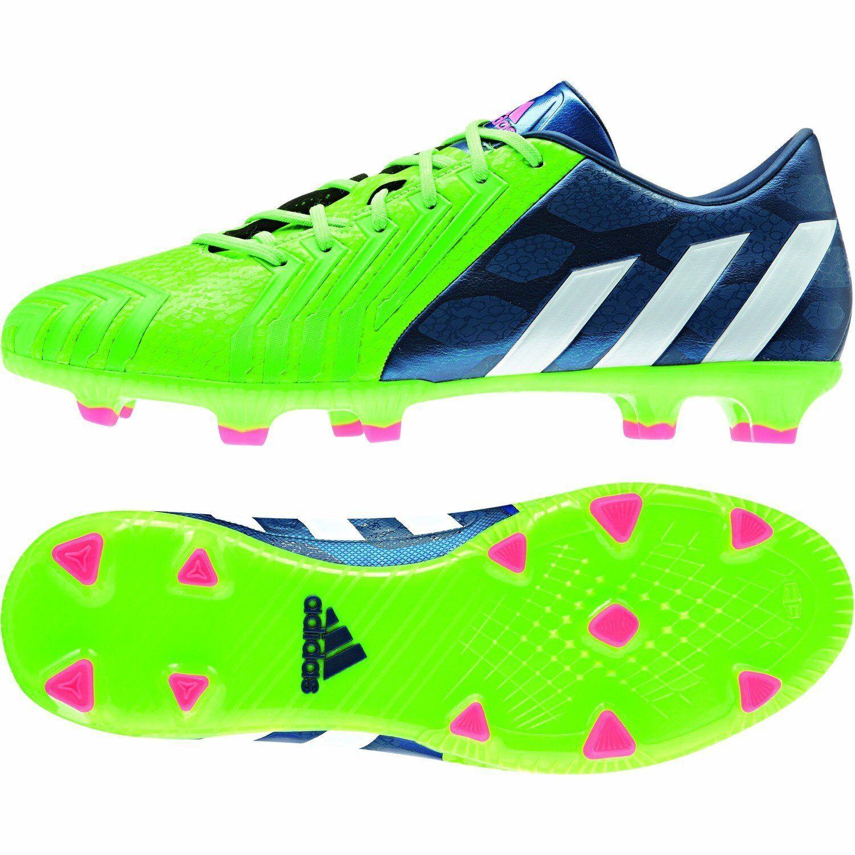 Nuevos Adidas Projoator Absolado instinto Fg verde   Azul botas de fútbol m17630