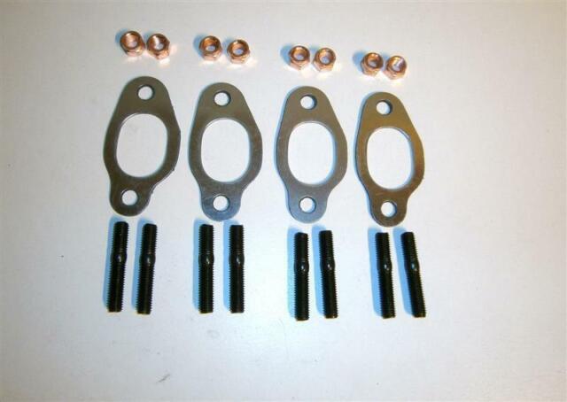 4x Abgaskrümmerdichtung + Stehbolzen VW 1,8 2,0 G60 PG 2E ADY TDI Metall