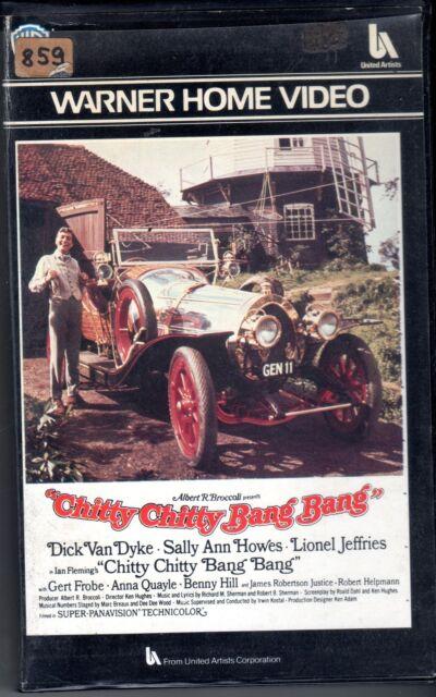 Chitty Chitty Bang Bang (1968) VHS 1a Ed. Warner Bros.
