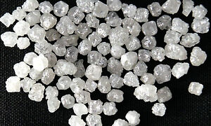 Natural-Loose-Diamonds-Rough-Cubic-Shape-Fancy-Silver-White-Color-40-Pcs-Lot-Q99