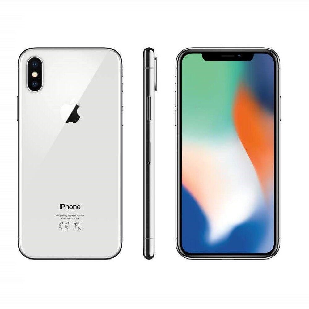iPhone: IPHONE X RICONDIZIONATO 64GB GRADO B BIANCO SILVER ORIGINALE APPLE RIGENERATO