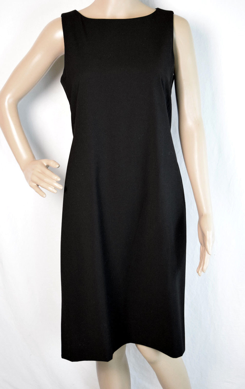 Studio by London Times Sheath Dress schwarz Sleeveless Größe 6 NWT