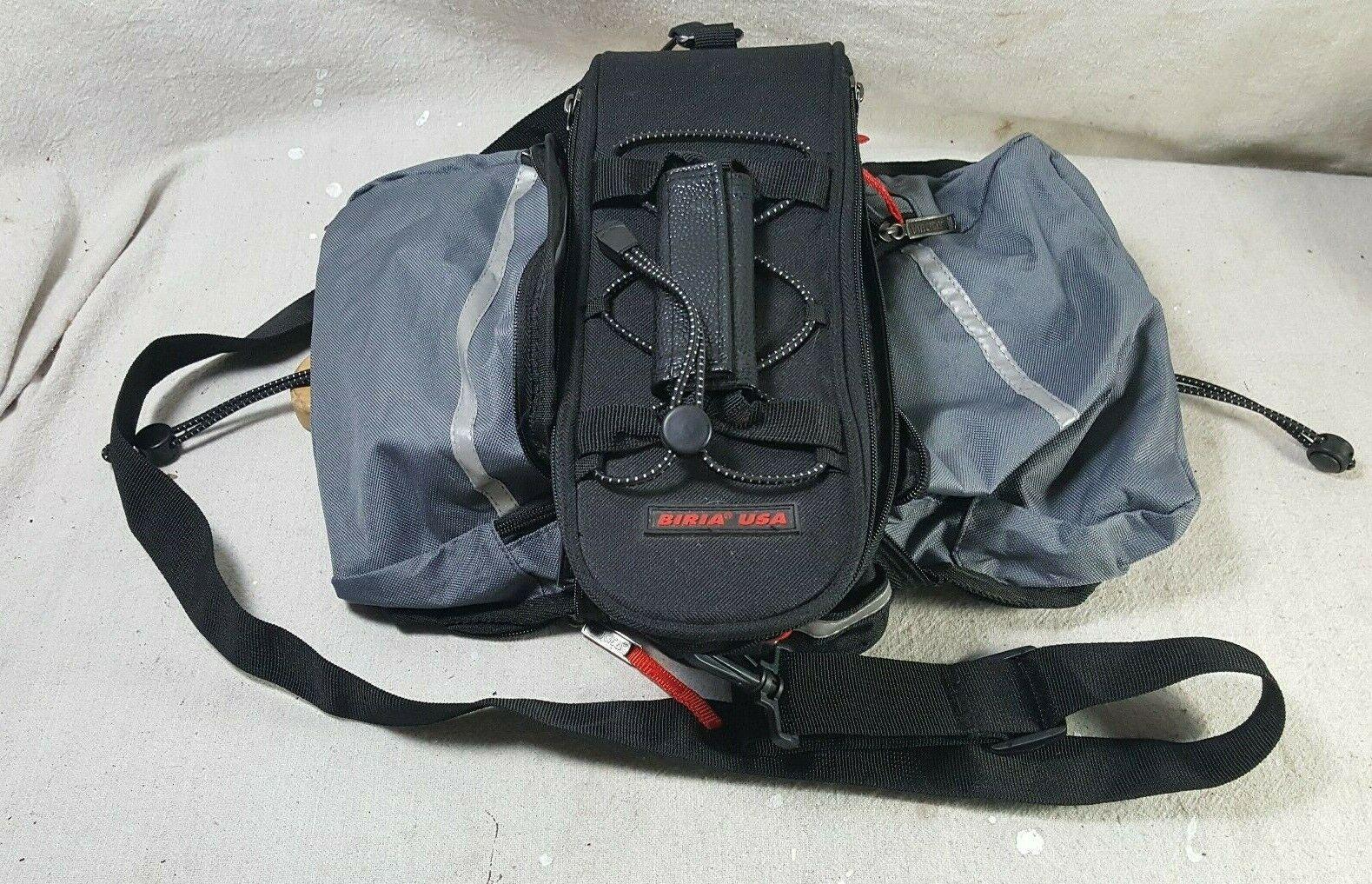 Bria  USA Exanding Bike Saddle Carry Bag w Handle and Shoulder Strap  novelty items