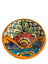 Colorful-Decorative-Mexican-Style-Fiesta-Bowl-Mexican-Fiesta-Tableware thumbnail 3