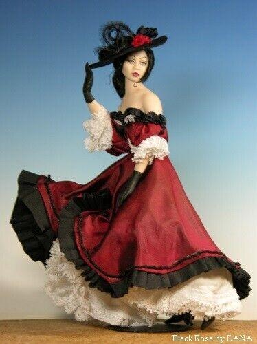 1:12 Visual Mini Doll Dressing Made Easy~By Dana ~ LOLITA ~ PDF-Tutorial//Pattern
