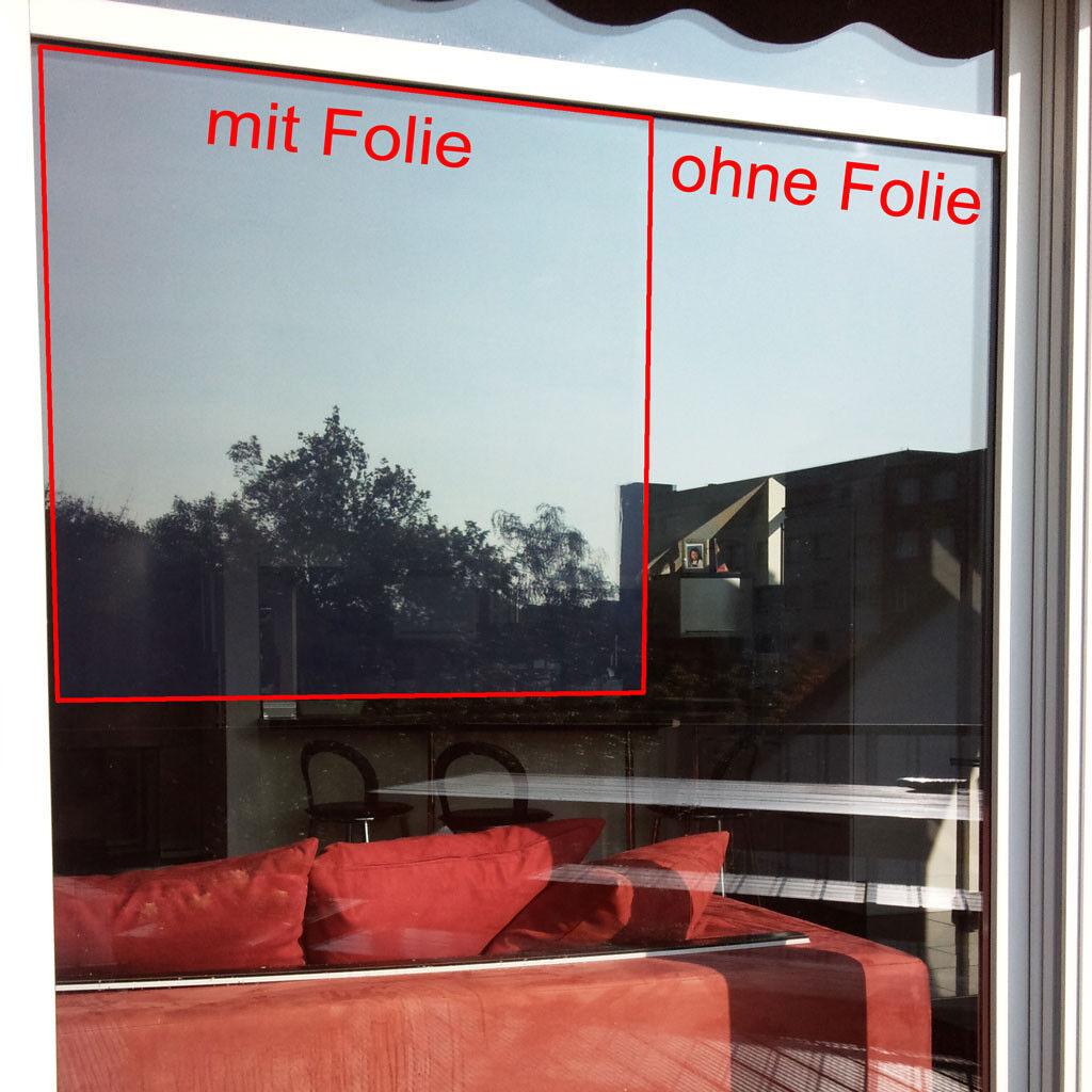 Fensterfolie & Hitzeschutzfolie THE 80 EX leicht hellblau - Breite Länge wählbar