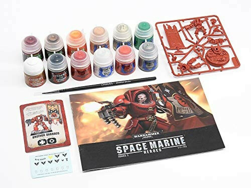 basta comprarlo MAXFACTORY spazio Marine Heros Heros Heros Basic Paint Set Series2 Warhammer 40,000  perfezionare