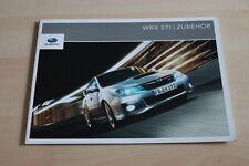 101639) Subaru Impreza WRX STi - Zubehör - Prospekt 09/2010