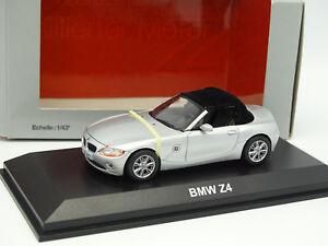 Norev-1-43-BMW-Z4-Grise