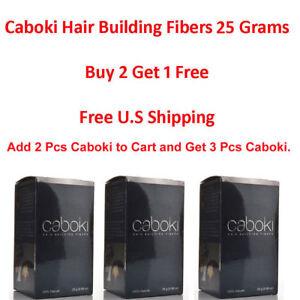 Caboki-Hair-Building-Fibers-25G-Hair-Loss-Concealer-U-S-SELLER-BUY-2-GET-1