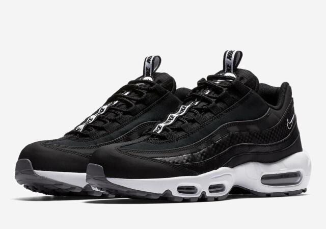 nike air max 95 se black black white cool grey