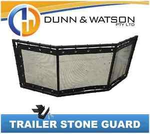 Details about Trailer Stone Guard - Camper Trailer - Caravan - Boat Trailer  - Universal Fit