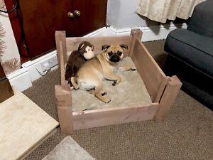 Panier de mise bas pour chien 70x70x30high