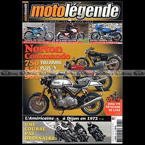 Amical Moto Legende N°235-b Norton Commando 750 850 961 Guzzi Falcone Gima 175 Dresda Moins Cher