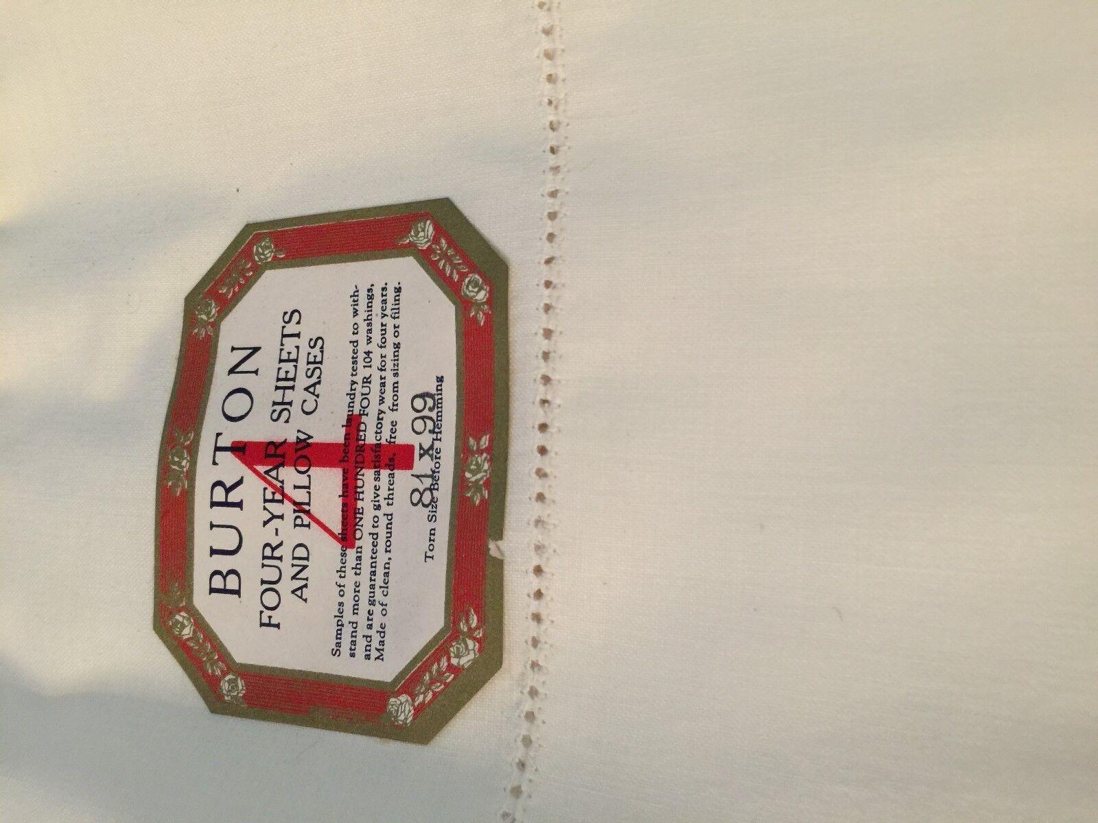 Grandmas Estate Vintage Estate Sheet (4074)