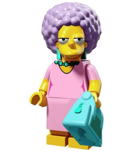 Retraite LEGO 71009 Lego Patty Bouvier-Simpsons-Series 2 Mini-Figurines
