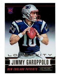 Jimmy-Garoppolo-2014-Rookies-and-Stars-Longevity-152-14-Card-Lot