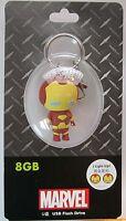 Avengers Kawaii Iron Man USB Flash Drive 8GB Marvel Comics Disney D-Tech NEW