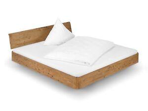 Details Zu Bett Holz Akazie Doppelbett Ehebett 140x200 Möbel Schlafen Betten Salomon Iii