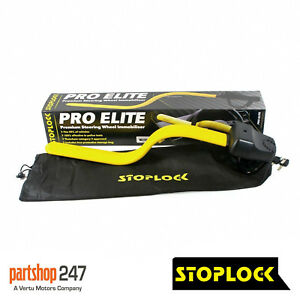 Stoplock Pro Elite Steering Wheel Lock High Security Thatcham Cat 3
