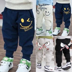 Kids-Baby-Boys-Girls-Harem-Pants-Toddler-Printed-Long-Trousers-Bottoms-Sweatpant