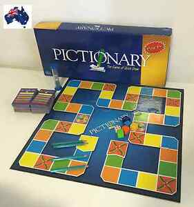 pictionary game family board game kid adult educational toy hot fun party game ebay. Black Bedroom Furniture Sets. Home Design Ideas