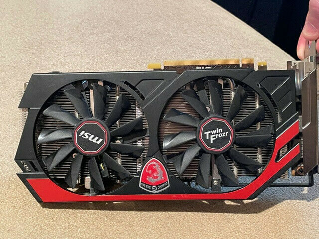 MSI NVIDIA GeForce GTX 770 2GB (N770 TF 2GD5/OC) Flashed for MacOS (MacVidCards)