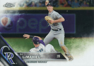 2016-Topps-Chrome-DJ-LeMahieu-37-Colorado-Rockies-baseball-Card