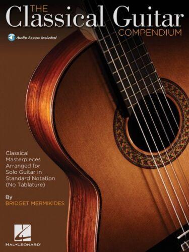 The Classical Guitar Compendium Sheet Music Classical Masterpieces Arr 000151382