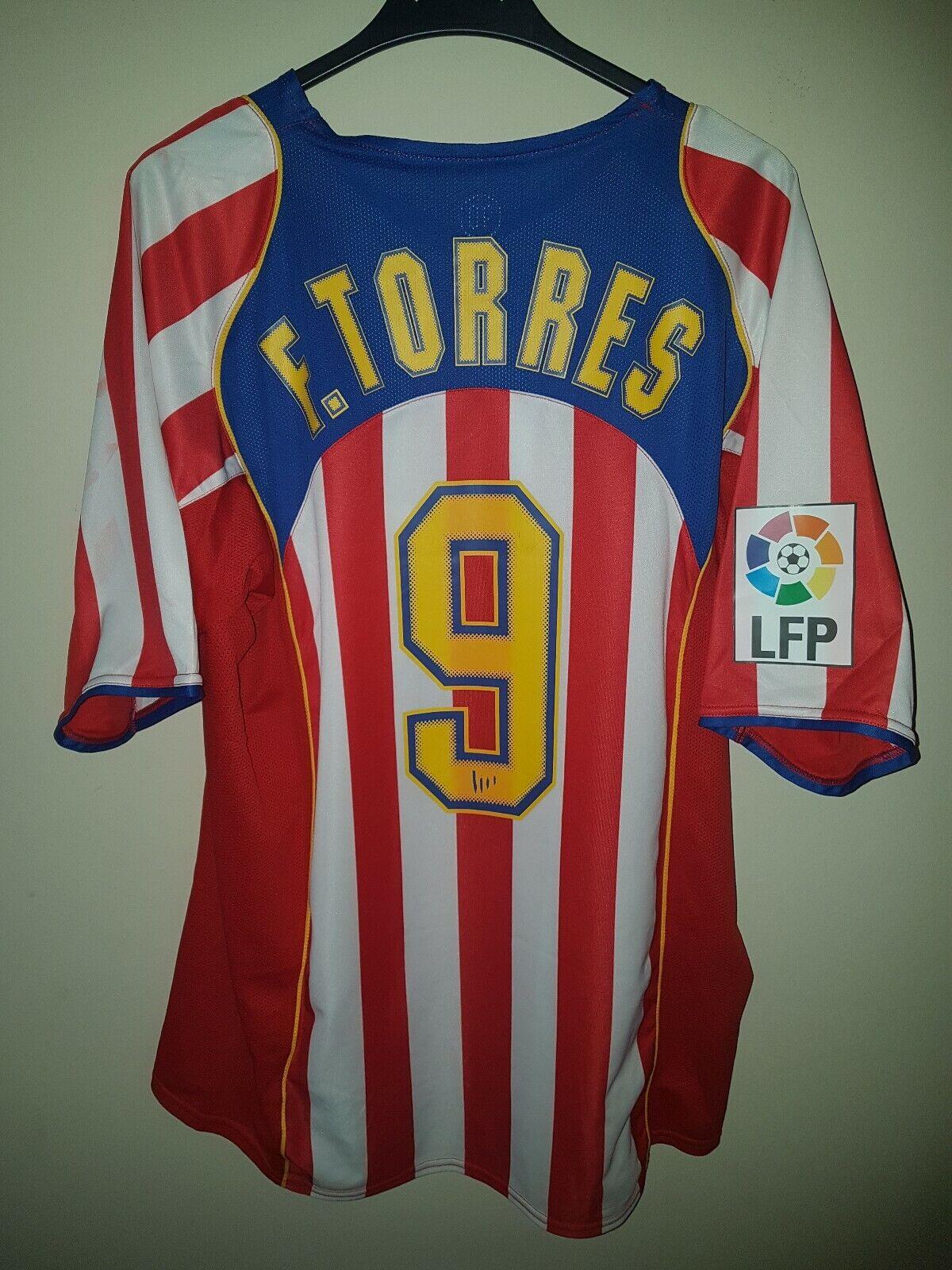 Camiseta de Futbol Atlético De Madrid Fernando Torres Dorsal 9 ORIGINAL nike