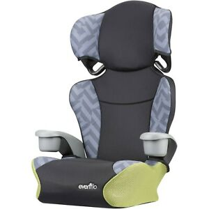 Evenflo-Big-Kid-Sport-High-Back-Booster-Car-Seat-Goody-Two-Tones