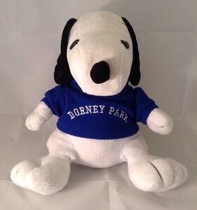 Dorney Park Peanuts Snoopy Plush Stuffed Animal Amusement Park
