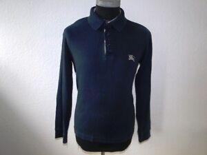 Details zu Burberry Damen Pullover Langarm Blau Unifarben Baumwolle Gr. M
