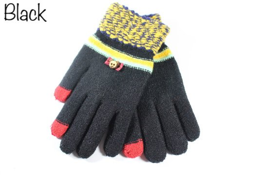 Gloves For Women's Mixed Cotton 2 Color