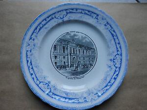 Assiette.bordeaux Vieillard 1845/1868.paris.le Guichet De L'empereur.. 22ydb3kb-08001218-981203197