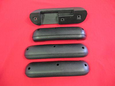 FORD FALCON BLACK ARM REST x 4 SUIT XT XW XY GT GS SEDAN BRAND NEW ZC ZD WAGON