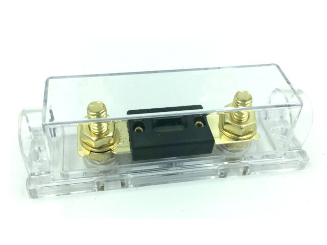 Digital Display ANL Fuse Holder Gold Plated 0 Gauge 2Free Fuse 100A FH61B