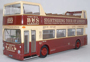 Details about 27901 EFE Daimler DMS Single Door (Open Top) Big Bus Company  Coach 1:76 Diecast