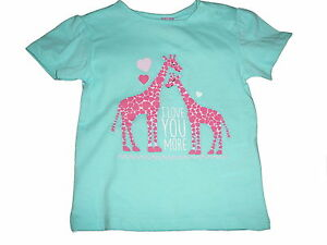NEU Dopodopo niedliches T-Shirt Gr. 92 hellblau mit Giraffen Motiv !!