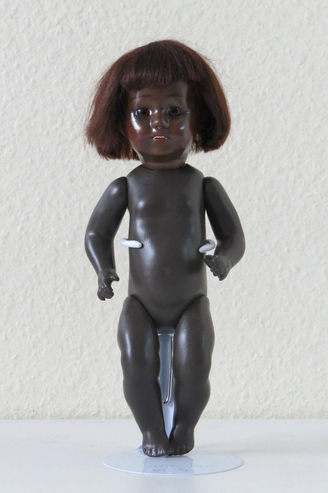 Loulotte  Un poco Negra Nº 4 . 24 cm Muñeca creacióN Doll Negro