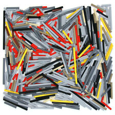 Lego Technic - Axles Rods Shafts Arms - Selection 520 Parts - Black Red Grey NEW