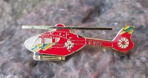 G-TVAL Thames Valley Air Ambulance Airbus H135 Eurocopter Helicopter Pin Badge