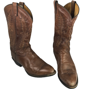 Tony Lama Men's western Boots  Size 12 D brown