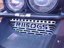 Rugged Roads - BMW R1150GS/A - Silver Oil Cooler Guard GS Logo - 2012