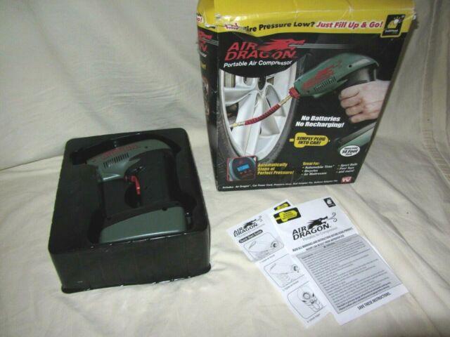 Air Dragon Tire Inflator >> Air Dragon Handheld Compressor Portable Auto Tire Pump Emergency Powerful 12v